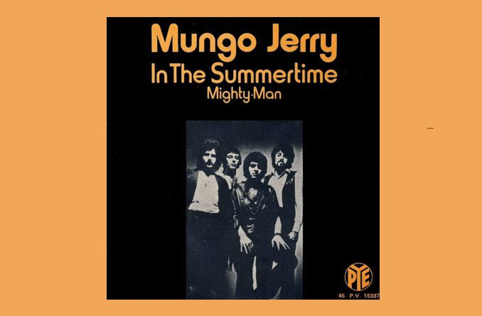 Mungo Jerry Mit In The Summertime In Den Song Geschichten