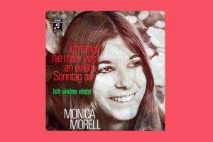 """Monica Morell mit """"Ich fang nie mehr was an einem Sonntag an"""" in den Song-Geschichten 219"""