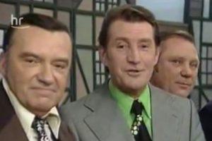 """""""Plus 5"""": Fußball-Weltmeister singen im """"Blauen Bock"""", 27.10.1973"""