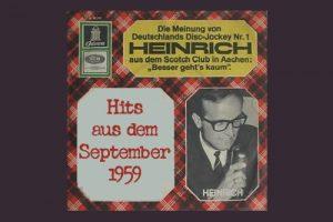 In Aachen eröffnet die erste Diskothek in Deutschland, 19.09.1959