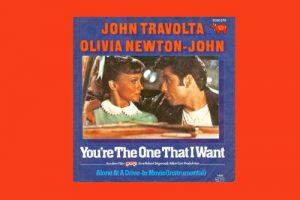 "John Travolta & Olivia Newton-John mit ""You're The One That I Want"" in den Song-Geschichten 166"