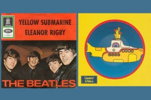 "Die Beatles mit ""Yellow Submarine"" in den Song-Geschichten 151"