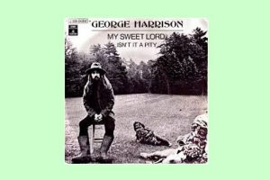 "George Harrison mit ""My Sweet Lord"" in den Song-Geschichten 310"