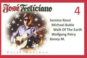 """Advendskalender, 4.12.2019: """"Feliz Navidad"""" mit José Feliciano, Semino Rossi u.a."""