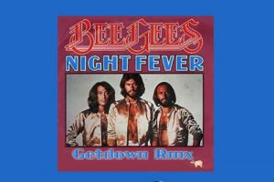"Die Bee Gees mit ""Night Fever"" in den Song-Geschichten 82"