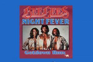 """Die Bee Gees mit """"Night Fever"""" in den Song-Geschichten 82"""