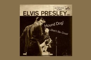 "Elvis Presley mit ""Hound Dog"" in den Song-Geschichten 232"