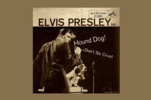 """Elvis Presley mit """"Hound Dog"""" in den Song-Geschichten 232"""