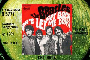 "Die Beatles mit ""Get Back"" in den Song-Geschichten 305"