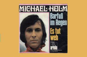 Michael Holm mit Barfuss im Regen in den Song