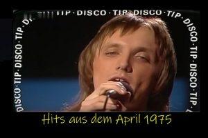 """Westernhagen-Debüt in der ZDF-""""Disco"""", 26.04.1975"""