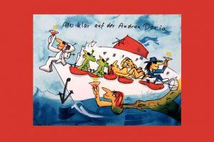 Untergang der Andrea Doria, 25.07.1956