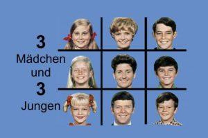 """""""Drei Mädchen und drei Jungen"""" startet im ZDF, 08.08.1971"""