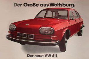 Oldtimer mit Musik: VW 411, 12.08.1968