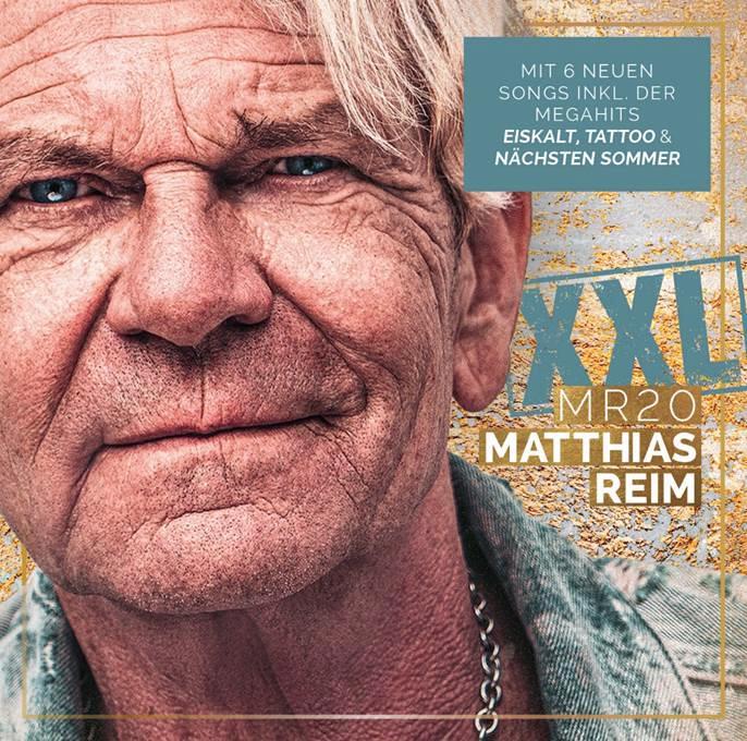 Album-Cover Matthias Reim, MR20 XXL mit sechs neuen Songs
