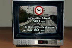 Bundestag beschließt Sonntagsfahrverbot, 19.11.1973