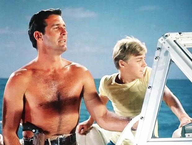 Neues Abenteuer mit Flipper, Brian Kelly und Luke Hapin