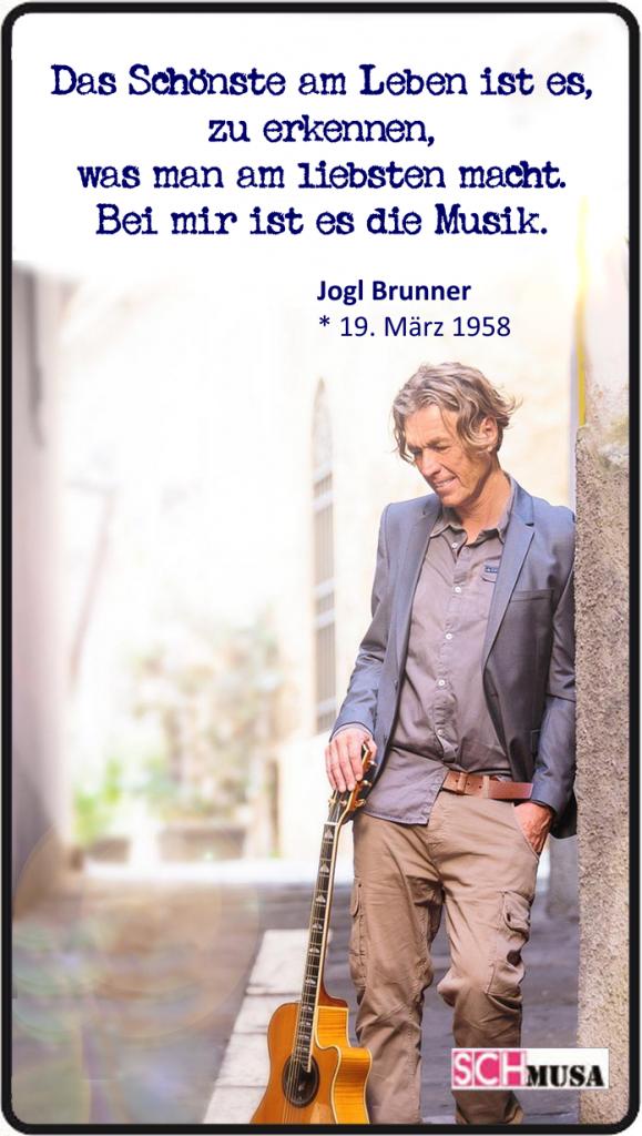 Jogl Brunner, schmusa-card,Zitate