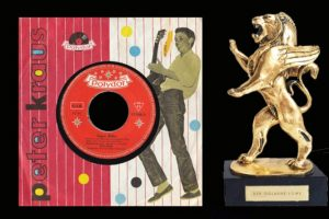 """Der Goldene Löwe geht an Peter Kraus für """"Sugar Baby"""", 30.04.1959"""