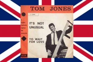 "Tom Jones begeistert mit seiner Debüt-Single ""It's Not Unusual"" bis heute, 10.04.1965"