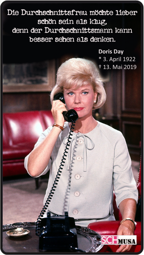 Doris Day, schmusa-card, Foto: Universal