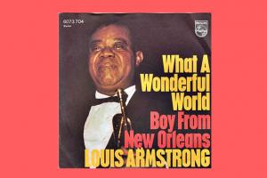 "Louis Armstrong mit ""What A Wonderful World"" in den Song-Geschichten 119"