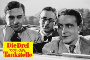 """Premiere für """"Die Drei von der Tankstelle"""" in Berlin, 15.09.1930"""