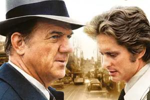 """Karl Malden und Michael Douglas ermitteln in den USA in der Serie """"Die Straßen von San Francisco"""", 16.09.1972"""