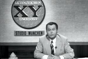 """""""Aktenzeichen XY… ungelöst"""" startet im ZDF, 20.10.1967"""