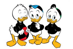 Donald Ducks Neffen Tick, Trick und Track haben 84. Geburtstag